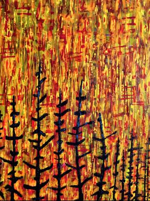 WILD-FIRE-2019    Climate - Change - Art