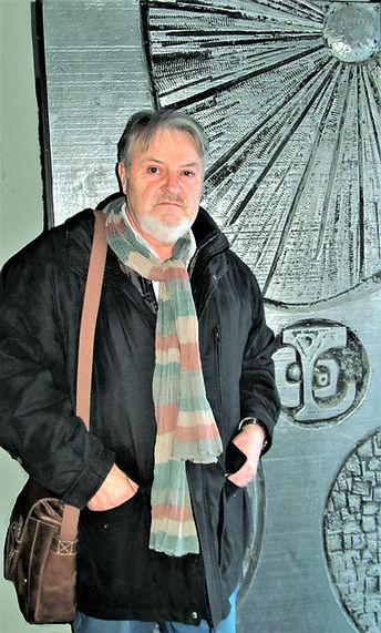 Artist with Metal Door - Canada.JPG