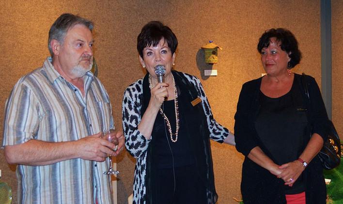 Leo Schimanszky, Rosemary Wick,  Jeannine Schimanszky !