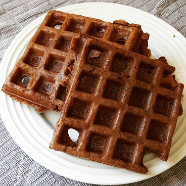 Waffles de Nuez (sin harina)