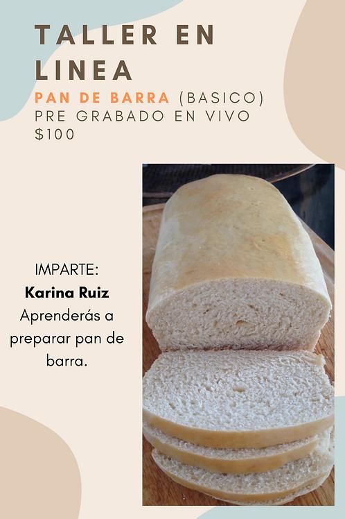 Mini Taller Pan - PAN DE BARRA