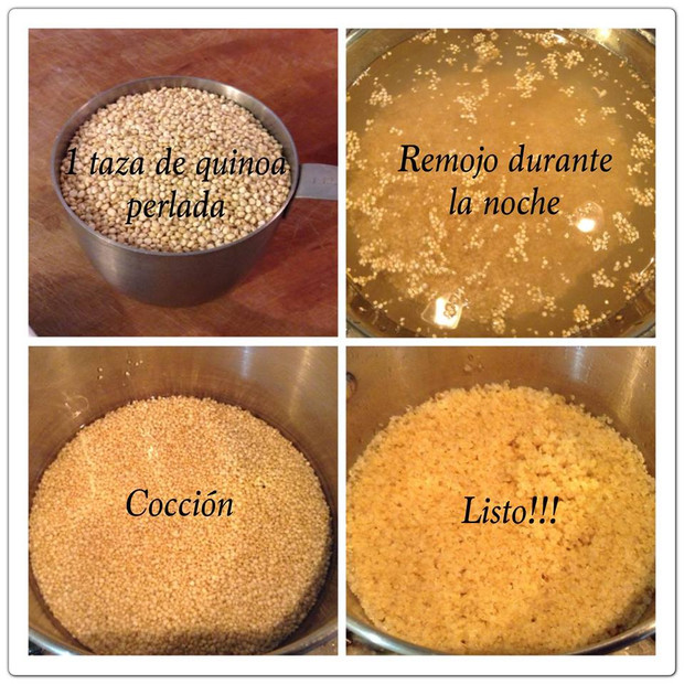 C mo cocer la quinoa perlada blog mejor natural for Cocinar quinoa negra