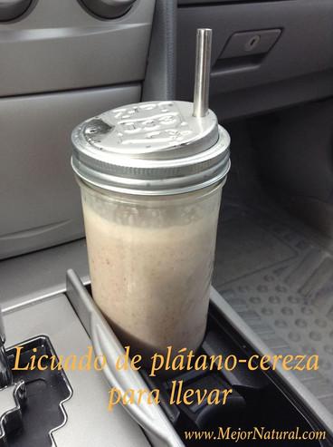 Licuado Platano / Cereza
