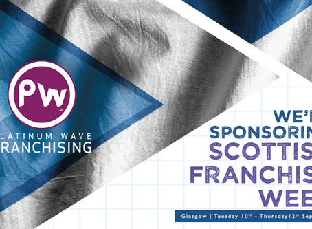 We're Sponsors of Scottish Franchise Week!