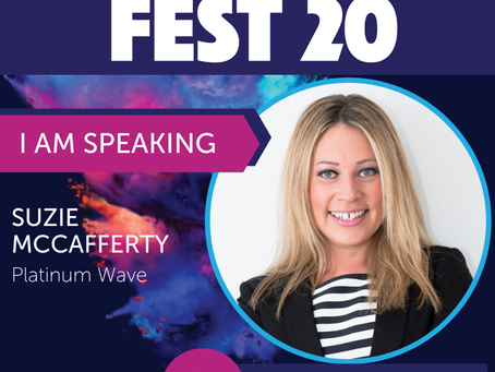 Suzie is speaking at Franchise Fest 2020!