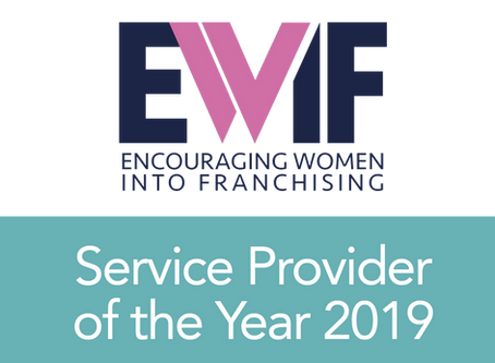 Our Managing Director, Suzie McCafferty, is an EWIF Awards 2019 Finalist!