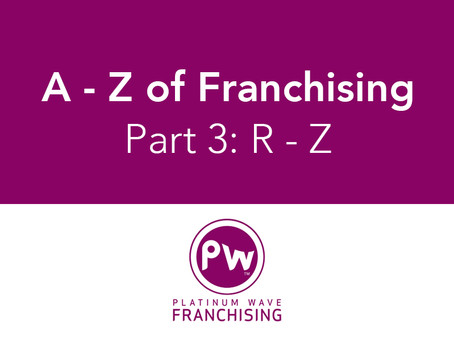 A - Z of Franchising: Part 3 (R - Z)