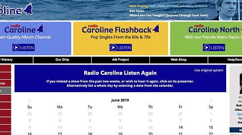 Radio Caroline radio play