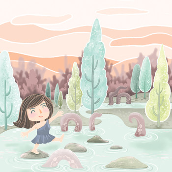 Magical Lake Outing