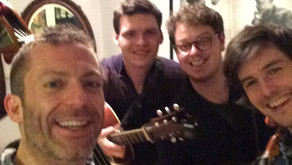 Ben Somers String Band First Tour Rehearsal