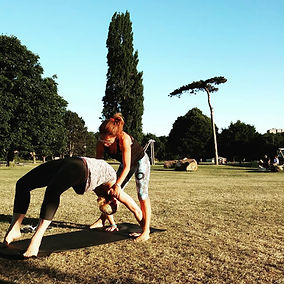 Private Yoga Session in the Park with An