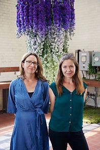 Claudia Van Rensburg and Sarah Purchase,
