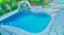 La piscina all'aperto dell'Isola che non c'è