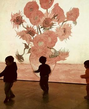 Isola che non c'è e l'arte: visita alla mostra di Van Gogh