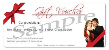 6 Week Course Gift Voucher