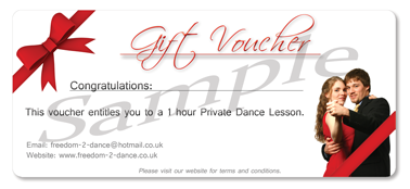 Private Lesson Gift Voucher