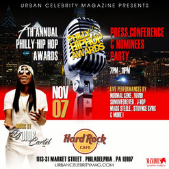 Urban Celebrity Magazine presents the 7th annual Philly hip-hop awards press conference