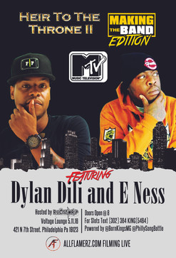 "DA BAND ""Tonight"" (E Ness x Dylan Dili Live May 11th At Voltage Lounge In Philly)"