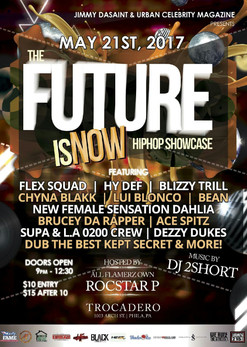 "Jimmiy Da Saint and Urban Celebrity Mag. Presents ""THE FUTURE IS NOW"" Showcase Hosted By R"