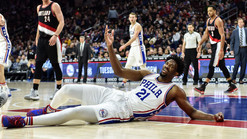 Due To Joel Embiid turning the Meek Mill concert into Dance 360 the Sixers had no choice but to fina