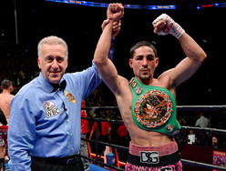 Danny Garcia Gets The Win In His Hometown (FULL FIGHT + Backstage Footage Of Allen Iverson and Meek