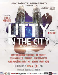 "Jimmy Dasaint presents  ""THE LITTY in the CITY""  Concert."
