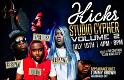 "AllFlamerz.com Invades KicksUSA For ""Kicks Studio Cyhper"" Feat. PNB Rock, Quilly, Omelly,"