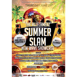 Allflamerz and Jimmy Dasaint presents THE Allflamerz Summer Slam mini concert
