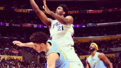 Los Angeles Lakers vs Philadelphia 76ers Full Game Highlights /  Joel Embiid made the Lakers his Son
