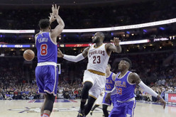 Lebron James comes to Philly to deliver another heart breaking lost to the Sixers 102-101 (Also clip