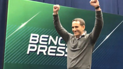 Philadelphia Eagles win coin toss for the 14th Pick In The NFL Draft (Howie Roseman goes nuts like t