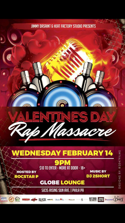 Jimmy Dasaint & Heat Factory studio Presents the Valentines Day RAP massacre!