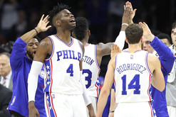 Sixers beat Clippers after being down by 19 without Okafor or Embiid w/ Philly Native Kevin Hart In