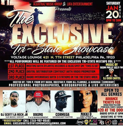 "Lifa Ent Presents ""The Exclusive Tri- State   Showcase"" At Voltage Lounge"
