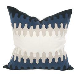 V Rug pillow 1