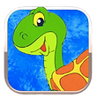 Turtle Pacing Board for Speech: Turtle Talk App by Aptus Speech Therapy