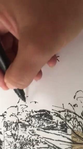 Helena Faneca drawing...