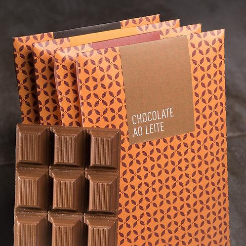Barras de Chocolate ao Leite