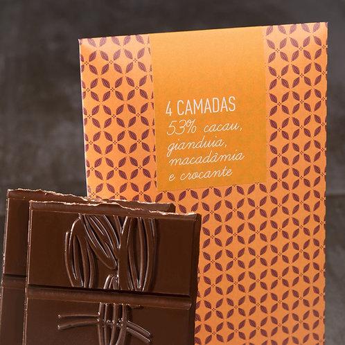 Barra de Chocolate 4 Camadas