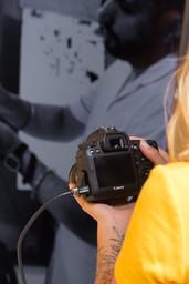 câmera com cabo hdmi
