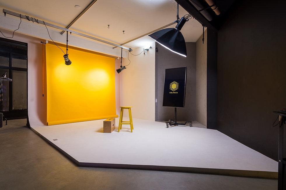 Estrutura do estúdio