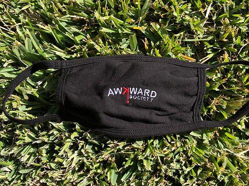 Awkward Society™ Logo Cotton Mask