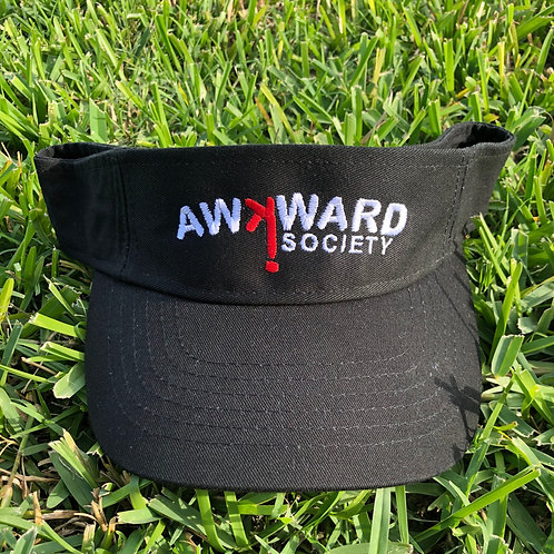 Awkward Society Logo Visor