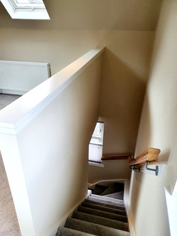 Staircase to Living Room