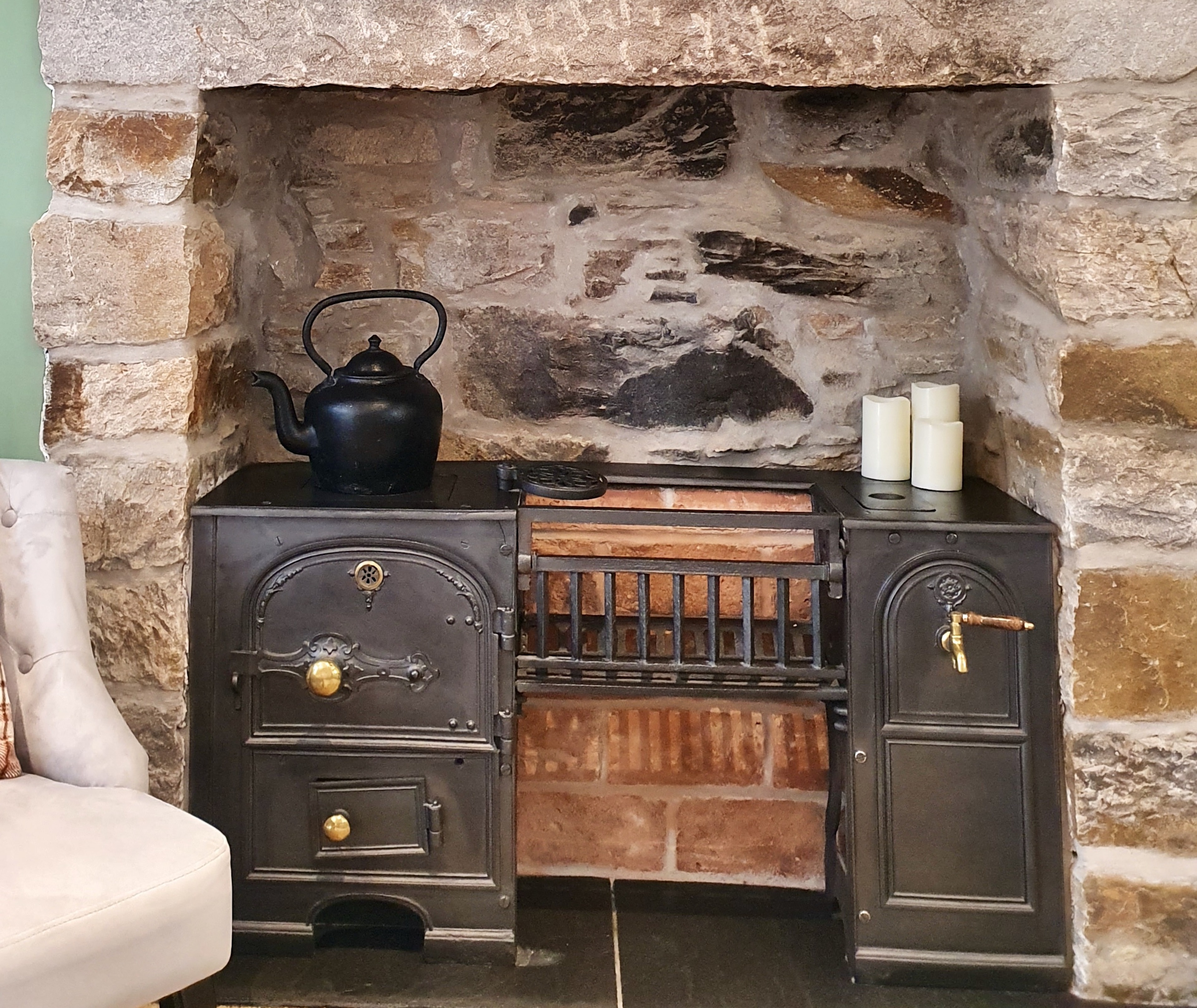 Refurbished Stove