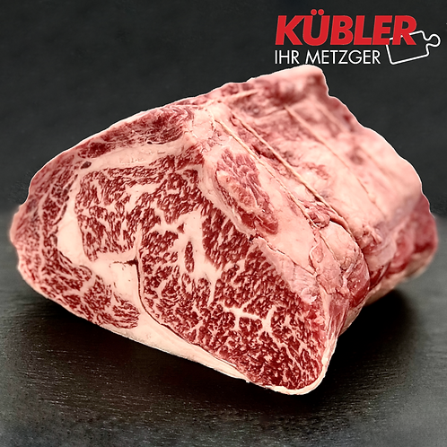 Rinder-Rib Eye ST 1kg Stück Selected-Prem.