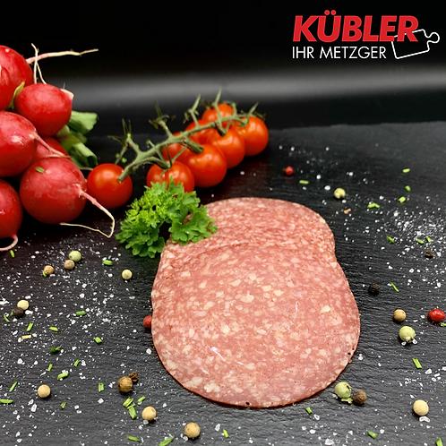 Puten-Salami geschnitten 100g Packung