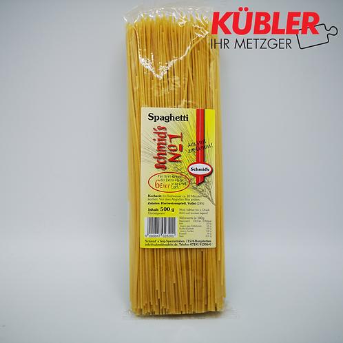 Nudeln Spaghetti 500g Beutel