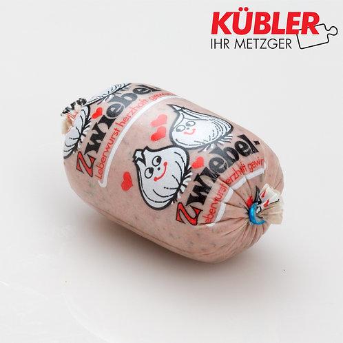 Leberwurst Kräuter Zwiebel 100g SB Stück