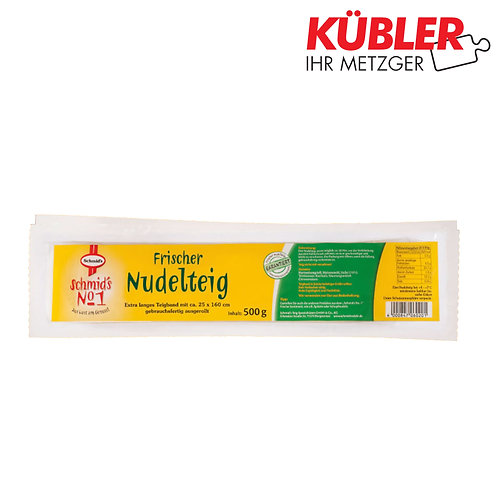 Nudelteig für Maultaschen Schmid 1kg Packung